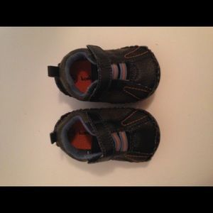 Navy blue infant shoe koala kids size 2
